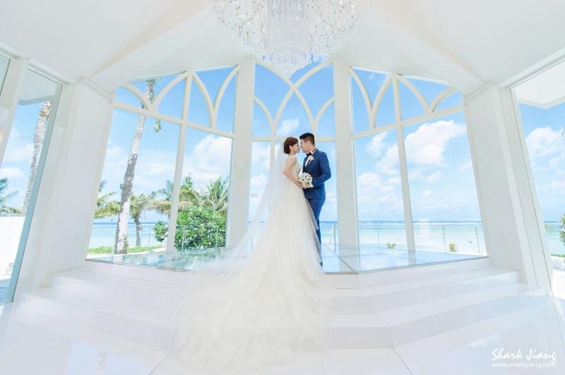 關島水晶教堂婚禮
